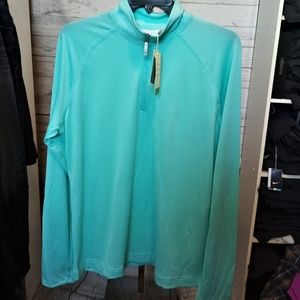 CALLAWAY WOMEN'S SZ XL TOP 1/4 ZIP GOLF PULLOVER
